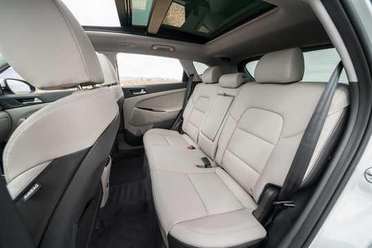 Interior of Hyundai Tucson 2.4 GDI 4WD Automatic, 188hp, 2018