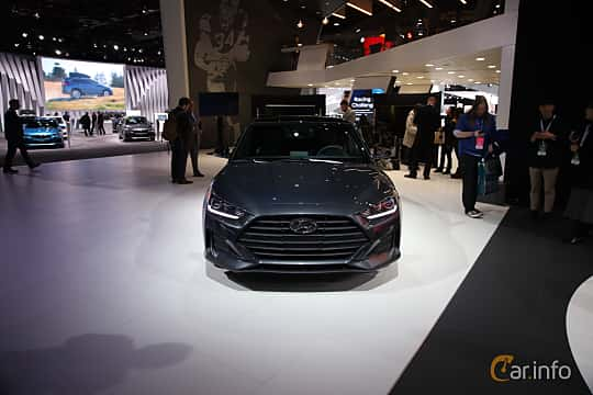 Fram av Hyundai Veloster 2.0 Automatic, 149ps, 2018 på North American International Auto Show 2018