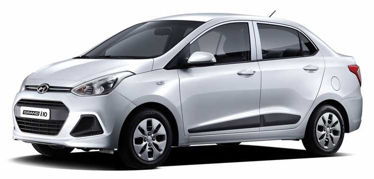 Front/Side  of Hyundai Xcent 2014