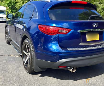 Back/Side of Infiniti QX70 3.7 V6 AWD Automatic, 320ps, 2017