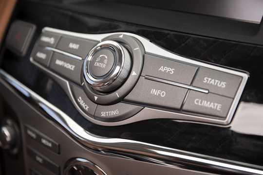 Interior of Infiniti QX80 5.6 V8 AWD Automatic, 408hp, 2018