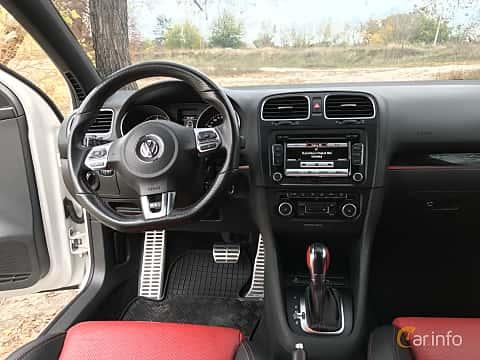 Interior of Volkswagen Golf GTI 5-door 2.0 TSI  DSG Sequential, 210ps, 2011