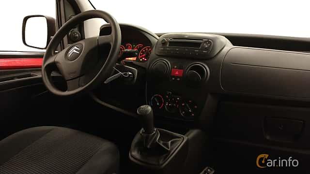 Interior of Citroën Nemo Van 1.2 HDi Manual, 75ps, 2013