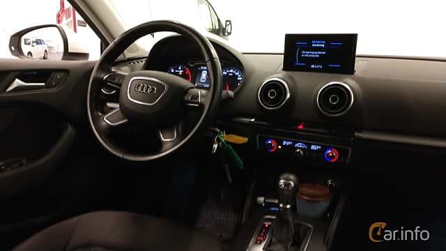 Interior of Audi A3 Sportback 2.0 TDI S Tronic, 150ps, 2016
