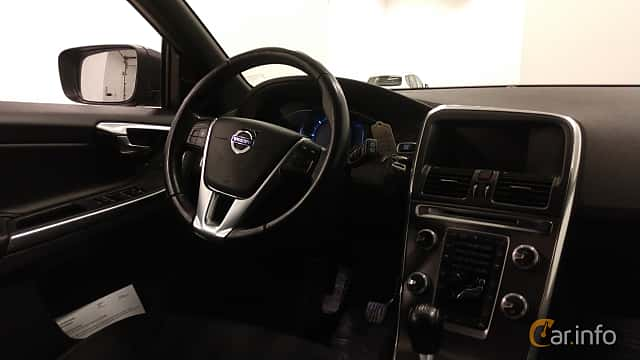 Interior of Volvo XC60 D4 AWD Manual, 190ps, 2016