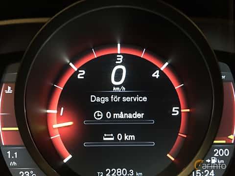 Interiör av Volvo V70 D4 AWD Geartronic, 181ps, 2016