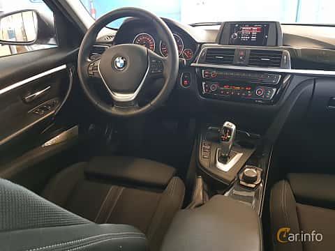 Interiör av BMW 320d EfficientDynamics Edition Touring  Steptronic, 163ps, 2016