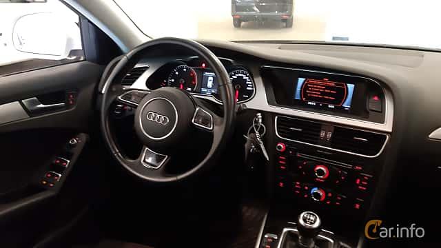 Interior of Audi A4 allroad quattro 2.0 TDI DPF quattro Manual, 150ps, 2016