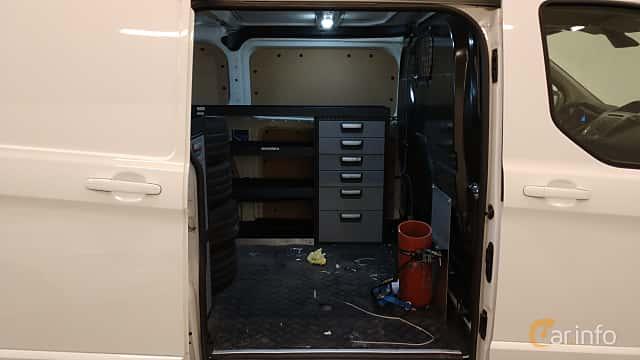 Interior of Ford Transit Custom 3-door Van 2.2 TDCi Manual, 125ps, 2014