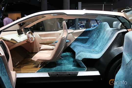 Interior of BMW Vision iNEXT Concept Concept, 2018 at IAA 2019