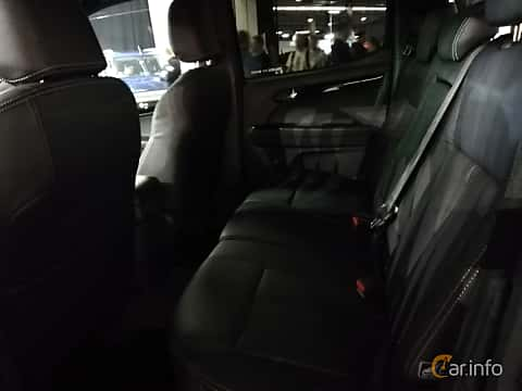 Interior of Isuzu D-Max Crew Cab 1.9 4WD Automatic, 163ps, 2018 at Warsawa Motorshow 2018