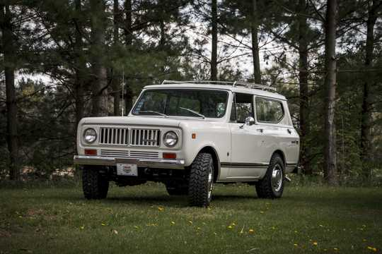 International Harvester Scout 5 7 4x4 Automatic, 146hp, 1973