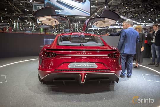 Back of Italdesign DaVinci Concept Concept, 2019 at Geneva Motor Show 2019
