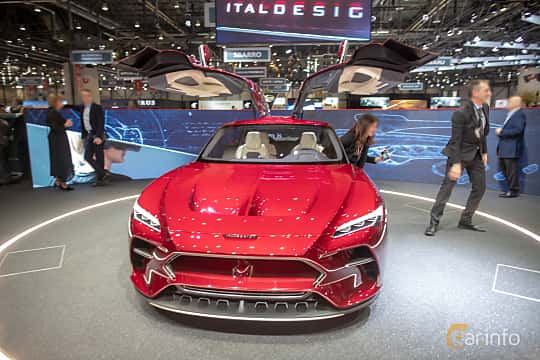 Front  of Italdesign DaVinci Concept Concept, 2019 at Geneva Motor Show 2019