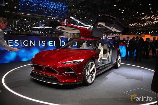 Front/Side  of Italdesign DaVinci Concept Concept, 2019 at Geneva Motor Show 2019