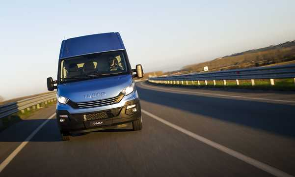Front  of Iveco Daily Van 2015