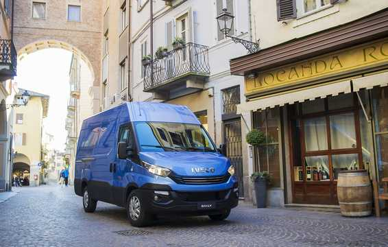 Front/Side  of Iveco Daily Van 2015