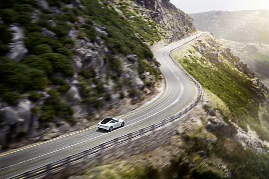 Back/Side of Jaguar F-Type R  Automatic, 550hp, 2015