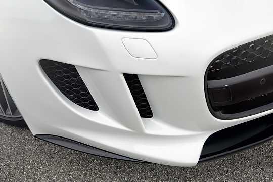 Close-up of Jaguar F-Type R  Automatic, 550hp, 2015