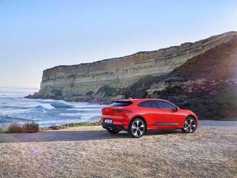 Back/Side of Jaguar I-Pace EV400 AWD 90 kWh AWD Single Speed, 400hp, 2018
