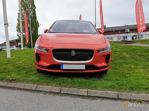 Front  of Jaguar I-Pace EV400 AWD  Single Speed, 400ps, 2019 at Bil & MC träff i Lerum 2019