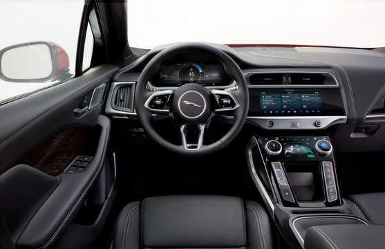 Interior of Jaguar I-Pace EV400 AWD 90 kWh AWD Single Speed, 400hp, 2018