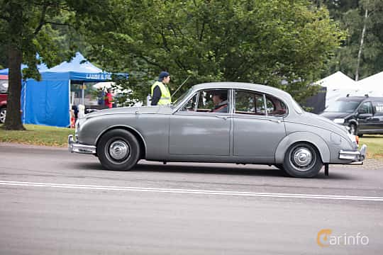 Sida av Jaguar Mark 2 2.5 XK Manual, 120ps, 1962 på Lergökarallyt 2017
