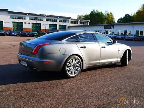 Back/Side of Jaguar XJ 5.0 V8 Automatic, 385ps, 2012