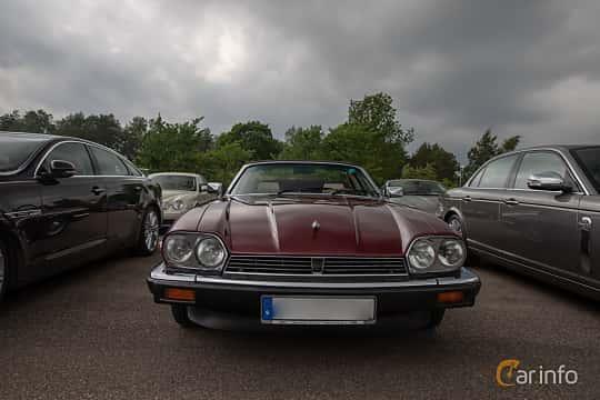 Front  of Jaguar XJ-SC 3.6 3.6 Automatic, 221ps, 1987 at Joe's garage 2019´s stora Jaugurevent