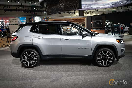Side  of Jeep Compass 2.0 VVT 4WD Automatic, 170ps, 2019 at LA Motor Show 2018