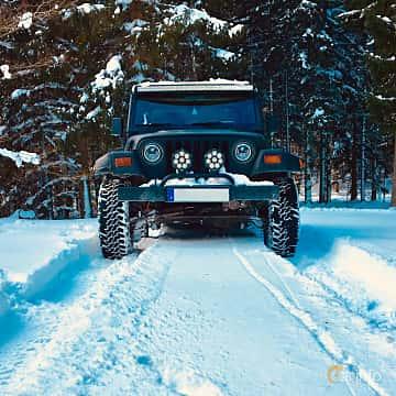 Fram av Jeep Wrangler 4.0 V6 4WD Automatic, 177ps, 1997