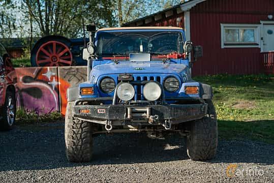 Fram av Jeep Wrangler 4.0 V6 4WD Manual, 177ps, 1997 på Lissma Classic Car 2019 vecka 20