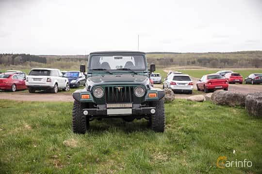 Fram av Jeep Wrangler 4.0 4WD Automatic, 169ps, 1999 på Lucys motorfest 2018
