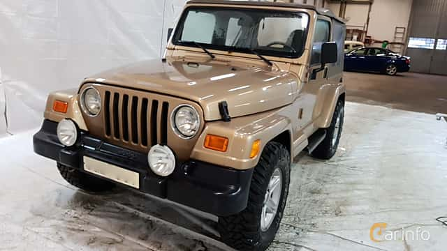 Fram/Sida av Jeep Wrangler 4.0 V6 4WD Automatic, 177ps, 2000