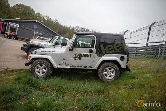 Sida av Jeep Wrangler 4.0 V6 4WD Automatic, 177ps, 2006 på Lucys motorfest 2019