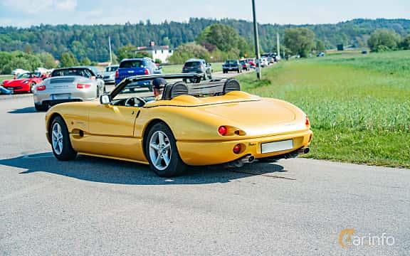 Back/Side of Jösse Car Indigo 3000 3.0 Manual, 207ps, 1998 at Tjolöholm Classic Motor 2019