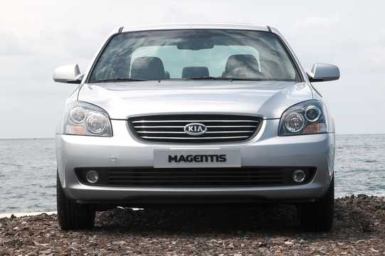 Front  of Kia Magentis 2.7 V6 188hp, 2006