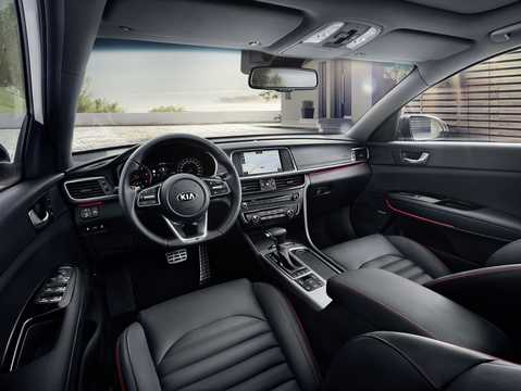 Interior of Kia Optima Sport Wagon 2018
