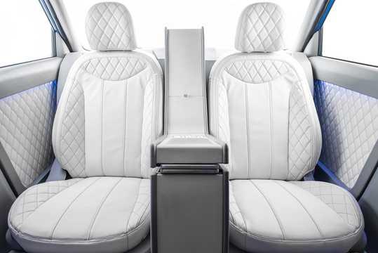 Interior of Kia Soul First Class 1.6 GDI Concept, 132hp, 2016