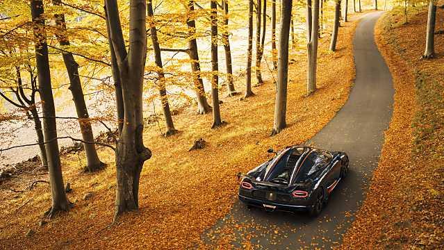 Back/Side of Koenigsegg Agera RS 5.0 V8 DCT, 1176hp, 2015
