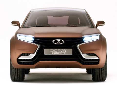 Front  of Lada XRAY Concept Concept, 2012