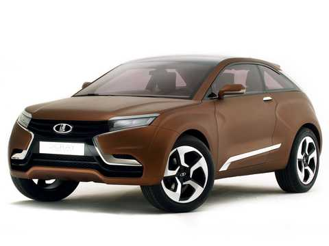 Front/Side  of Lada XRAY Concept Concept, 2012