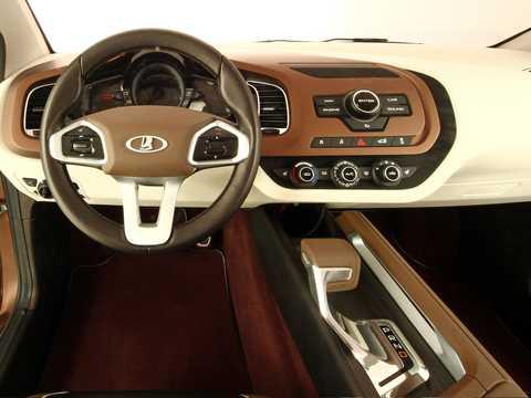Interior of Lada XRAY Concept Concept, 2012