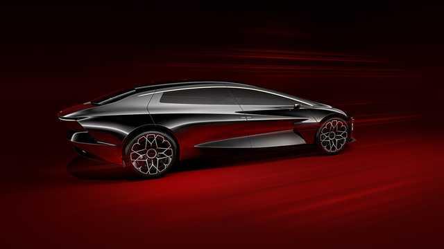 Back/Side of Lagonda Vision Concept Concept, 2018