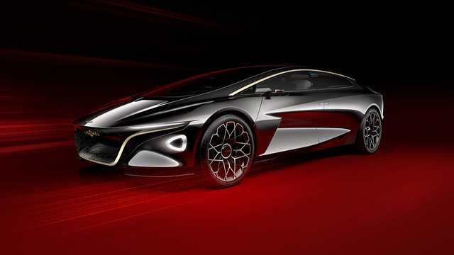 Front/Side  of Lagonda Vision Concept Concept, 2018