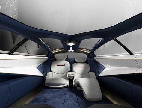 Interior of Lagonda Vision Concept Concept, 2018