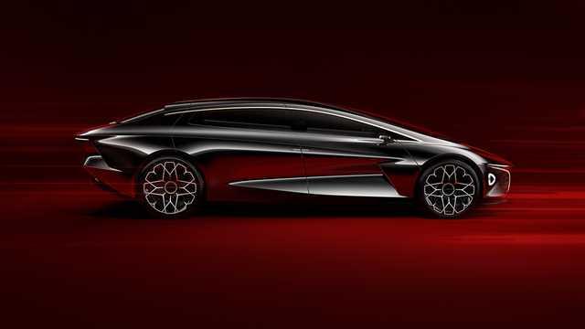 Side  of Lagonda Vision Concept Concept, 2018