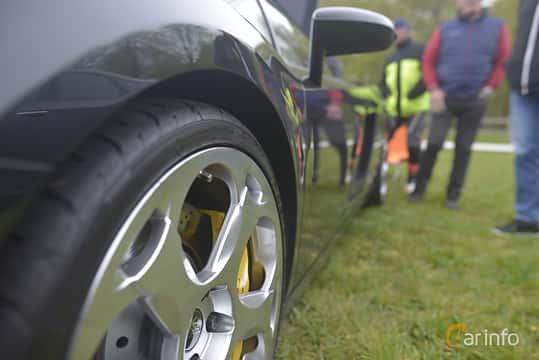 Närbild av Lamborghini Gallardo 5.0 V10 AWD 500ps, 2003 på Italienska Fordonsträffen - Krapperup 2019
