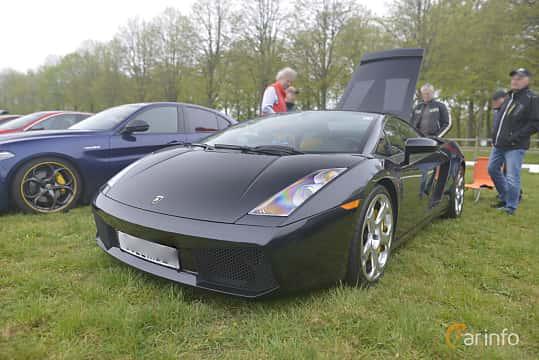 Fram/Sida av Lamborghini Gallardo 5.0 V10 AWD 500ps, 2003 på Italienska Fordonsträffen - Krapperup 2019
