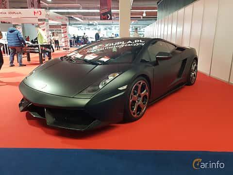 Front/Side  of Lamborghini Gallardo 2003 at Warsawa Motorshow 2018